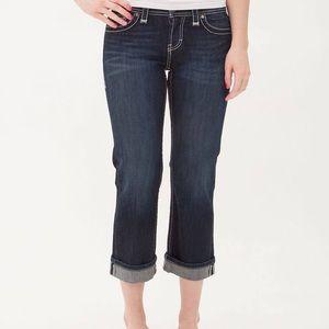 BKE Harper Stretch Cropped Jean